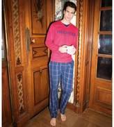 DANIEL HECHTER LINGERIE HH.Party.PYK1, 100% Cotton Long Pyjamas..