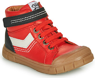 GBB BAO boys's Shoes (High-top Trainers) in Red