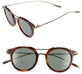 Salt Women's 'Taft' 46Mm Round Sunglasses - Burlywood/antique Gold