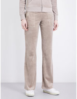 Juicy Couture Del Ray velour jogging bottoms