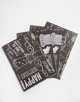 Brainbox Candy Chalk Gift Wrap 4 Sheets