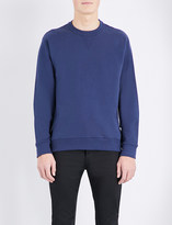 Kenzo Logo-back cotton-jersey sweatshirt