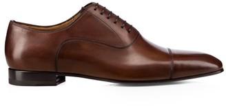 Christian Louboutin Cap-Toe Leather Oxfords