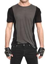 Karl Lagerfeld Jersey Two Tone T-Shirt