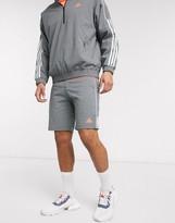 adidas limited edition shorts in grey