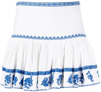 Etoile Isabel Marant Embroidered Mini Skirt