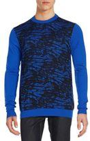 Versace Printed Wool Sweater