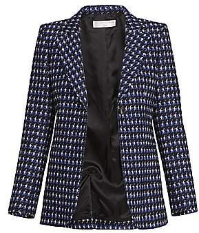 Victoria Beckham Women's Fitted Tweed Jacket