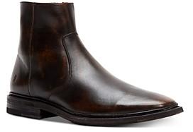 Frye Men's Paul Leather Zip-Up Boots