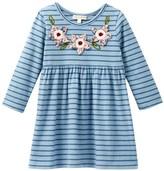 Mimi & Maggie Fall Skies Knit Dress (Big Girls)