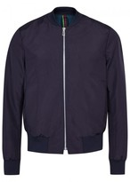 Ps By Paul Smith Ps By Paul Smith Navy Shell Bomber Jacket