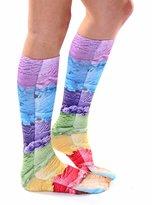 Living Royal Ice Cream Photo Print Knee High Socks