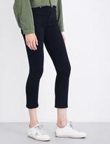 Hudson Harper kick-flare cropped high-rise jeans