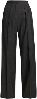 Max Mara Pomez Denim Wool Trousers
