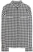 Haider Ackermann Wool And Linen-blend Shirt