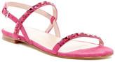 Stuart Weitzman Embellished Flat Sandal - Narrow Width Available