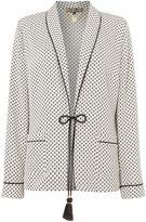 Biba Printed luxe pyjama style jacket