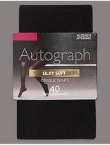 Autograph 40 Denier Body SensorTM Silky Soft Opaque Tights