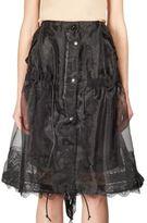 Sacai Laced Drawstring Skirt