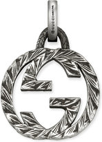 Gucci Double G sterling silver charm