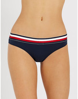 Tommy Hilfiger Striped stretch-cotton bikini briefs