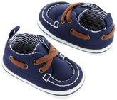 Carter's Newborn Baby Boy Boat Shoe Crib Shoes