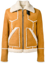 Coach shearling jacket - men - Calf Leather/Lamb Skin/Lamb Fur - 48