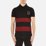 McQ by Alexander McQueen Men's Clean Polo Shirt Black/Red