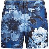 Thumbnail for your product : Ralph Lauren Purple Label Floral Swim Trunks