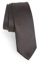 BOSS Men's Solid Silk Skinny Tie