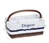 Pottery Barn Kids Navy Harper Diaper Caddy Liner