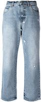 Alexander McQueen distressed boyfriend jeans - women - Cotton - 42