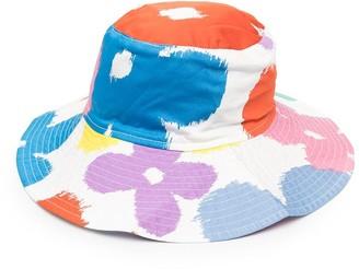 Stella McCartney Kids Floral-Print Sun Hat