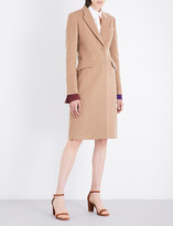 Givenchy Single-breasted wool and cashmere-blend coat