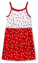 Circo Toddler Girls' 4th of July Star Dress Red