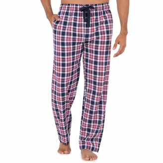 Chaps Men's Soft Touch Printed Flannel Pajama Pant
