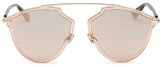 Christian Dior 48MM Tortoise Aviator Sunglasses