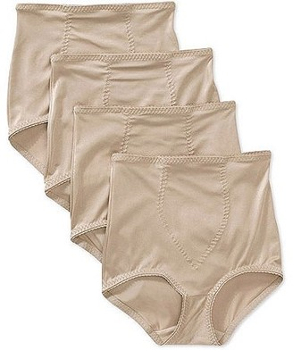 Cupid Light Control Brief with Shaping Panel - 4 Pack