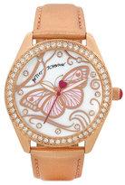 Betsey Johnson Fluttery Butterfly Watch