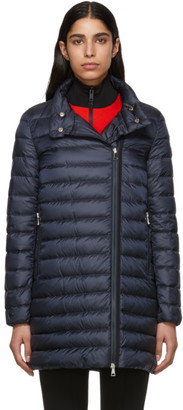 Moncler Navy Down Berlin Coat
