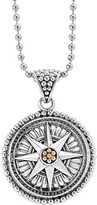 Lagos Women's Signature Caviar Compass Pendant Necklace