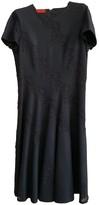 Carolina Herrera Navy Wool Dress for Women