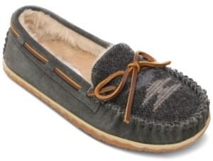Minnetonka Women's Tilia Faux-Fur Moccasins Women's Shoes