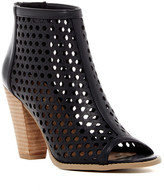 Report Ronan Perforated Peep Toe Bootie