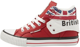 British Knights Women BKC-3702 High Top Trainers Red Size: 7 UK