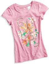 GUESS Floral Logo Tee (7-16)