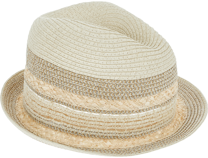 Accessorize Shimmer Trilby Hat