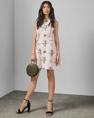 Ted Baker FLEURAY Flourish A-line dress
