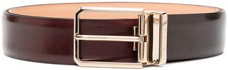 Santoni Buckled Leather Belt