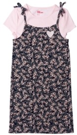 Epic Threads Big Girls All Over Print Tie Strap Dress with Tee